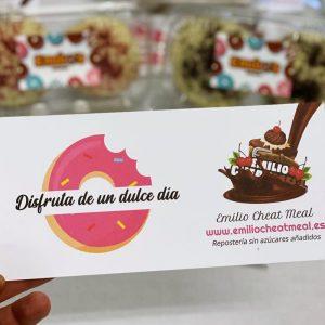 tarjeta felicitación en Emilio Cheat Meal