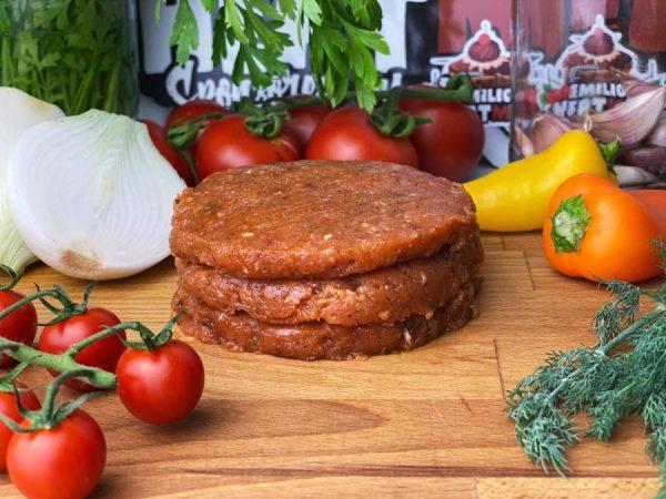 Hamburguesa picante de pollo - Emilio Cheat Meal