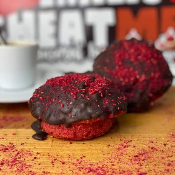 Emilios Red Velvet con chocolate negro