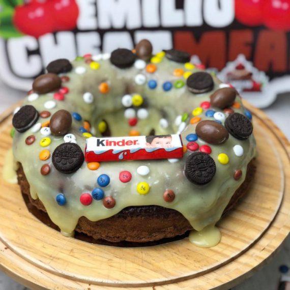 Roscón de reyes premium Emilio Cheat Meal