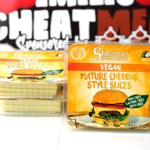 Queso Sheese vegano en lonchas